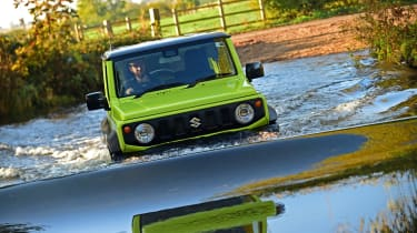 Suzuki Jimny SUV wading