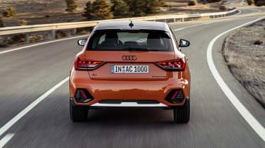 Audi A1 Citycarver driving - rear end