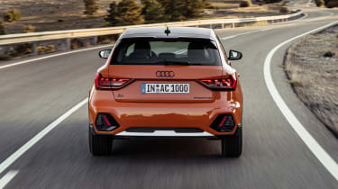 Audi A1 Citycarver driving - rear end