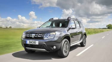 The Dacia Duster is one of the cheapest routes into SUV ownership, with prices starting at around £10,000