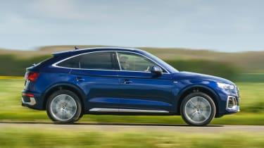 Audi Q5 Sportback SUV - side view dynamic