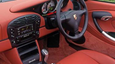 Porsche Boxster S interior