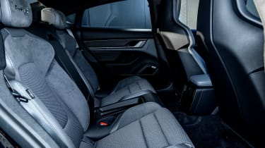 Porsche Taycan saloon rear seats