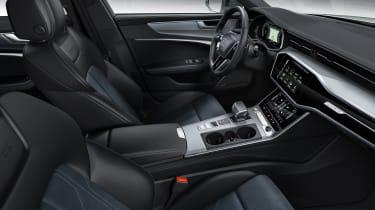 New 2019 Audi A6 Allroad estate- interior side view