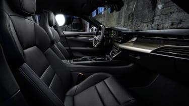Audi e-tron GT seats