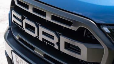 Ford Ranger Raptor pickup grille