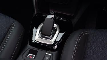 Vauxhall Corsa-e hatchback gearlever