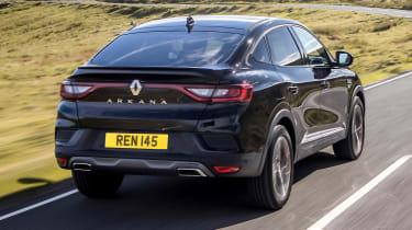 Renault Arkana SUV rear 3/4 tracking