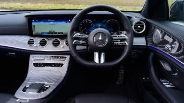 Mercedes E-Class hybrid interior
