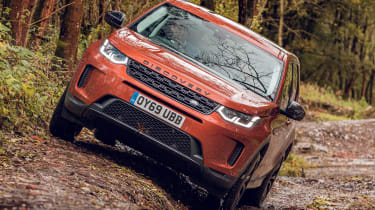 Land Rover Discovery Sport front off-road