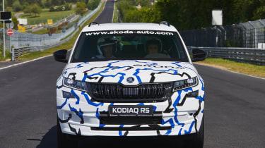 The new Skoda Kodiaq vRS SUV