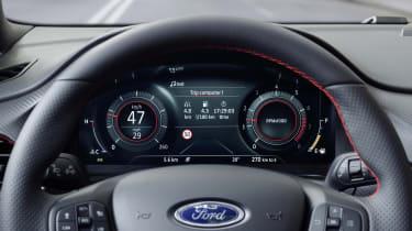2020 Ford Puma - digital dash close-up
