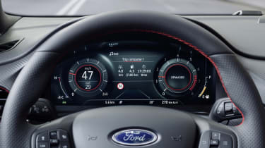 2020 Ford Puma - digital dash close-up