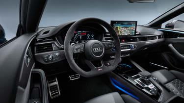 2020 Audi RS5 Coupe - interior quarter angle