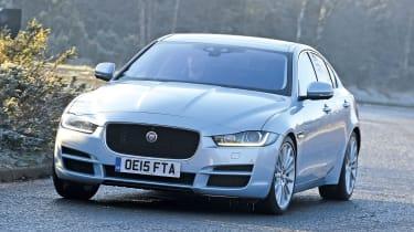 Jaguar XE front