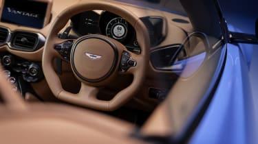 2020 Aston Martin Vantage Roadster - steering wheel view