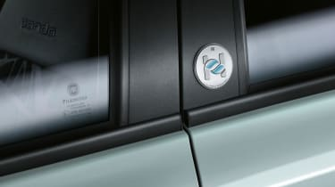 Fiat 500 and Panda mild hybrid badge