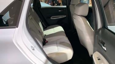 Honda Jazz hybrid rear seats
