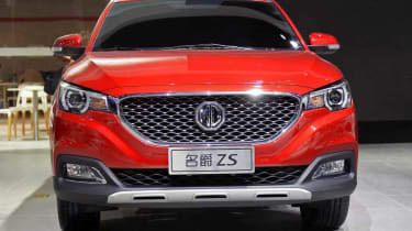 The MG ZS will go on sale in the UK on 1 November 2017