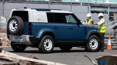 2020 Land Rover Defender 110 Hard Top - rear 3/4 view