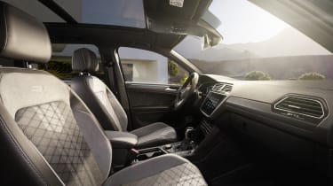 Facelifted Volkswagen Tiguan seats