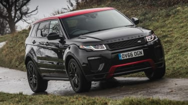 Along with the standard trim levels, lots of special edition Evoque's have been offered with exclusive styling and equipment