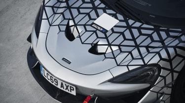 McLaren 620R - front close-up
