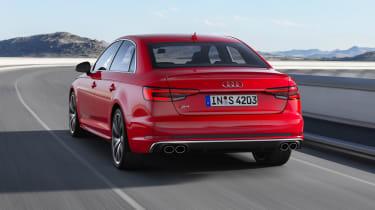 Audi S4 Saloon TDI - rear driving