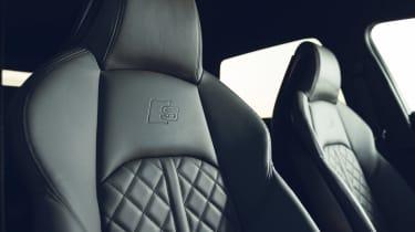 Audi S4 Avant estate front seats