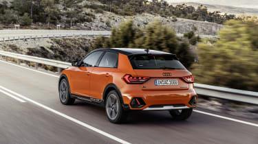 Audi A1 Citycarver rear view