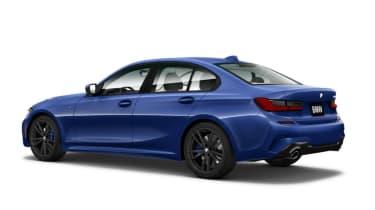 BMW 3 Series 2019 press rear quarter