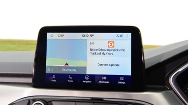Ford Kuga infotainment screen
