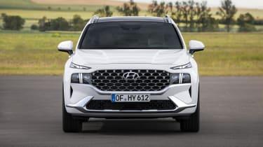 2020 Hyundai Santa Fe front end