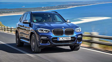 The M40i doesn't only impress in a straight line, though. It remains resolutely tidy on challenging roads, driving more like a saloon than an SUV