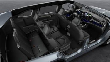 Toyota Highlander - all seven seats up