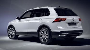 Volkswagen Tiguan plug-in hybrid - rear view