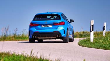 BMW M135i cornering - rear