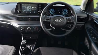 Hyundai i10 hatchback interior