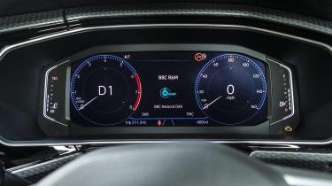 VW T-Cross digital dials