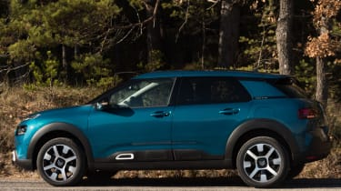 The C4 Cactus isn't technologically innovative but does feature a 7-inch infotainment system
