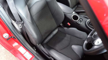 Nissan 370Z coupe front seat
