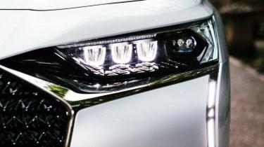 DS 9 saloon headlights