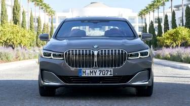 BMW 7 Series saloon front static