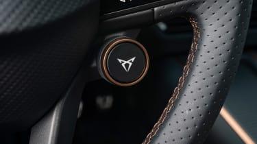 Cupra Born hatchback button