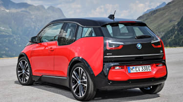 The standard i3 is fitted with a 94Ah battery that gives a claimed range of 195 miles