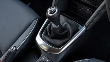 Mazda2 gearlever
