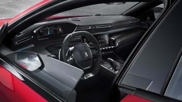 Peugeot 508 – frameless doors