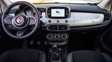 Fiat 500X Hey Google - dashboard