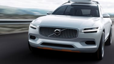 Volvo Concept XC Coupe front action