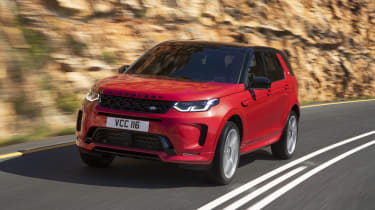 Facelifted Land Rover Discovery Sport - front driving